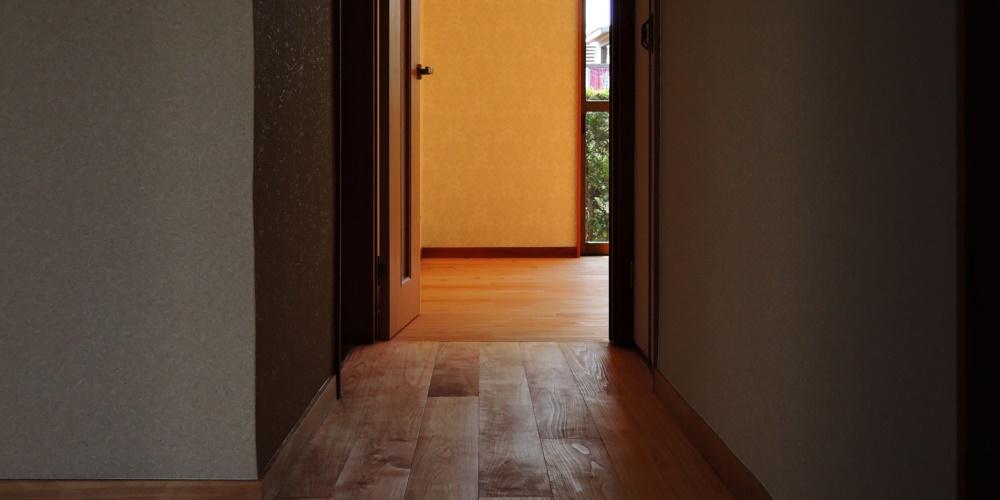 無垢床へのリフォーム